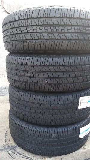 Four Goodyear tires for sale 265/70/17 for Sale in Washington, DC