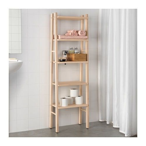 Ikea Ladder Shelf (bathroom shelf) (room shelf)