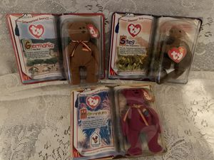 Ty Beanie Babies set of (3) for Sale in Easley, SC