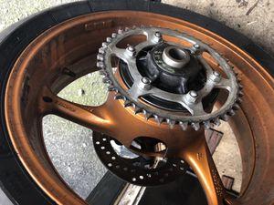 Gsxr 750 motorcycle wheel tire Michelin Suzuki for Sale in Secaucus, NJ