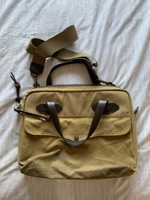Filson Tan Padded Briefcase for Sale in Milpitas, CA