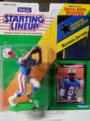 STARTING LINEUP SPORTS SUPER STAR COLLECTIBLE HAYWOOD JEFFIRES ACTION FIGURE for Sale in McKeesport, PA
