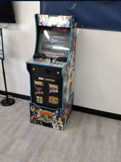 Arcade Cabinet Custom 10000 + Games 60 Console Brand New With Led Marquee And Led Control Pannel .Pc & Keyboard And 1 Controller for Sale in Chino, CA