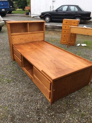 Free twin captain bed frame PENDING for Sale in Bonney Lake, WA