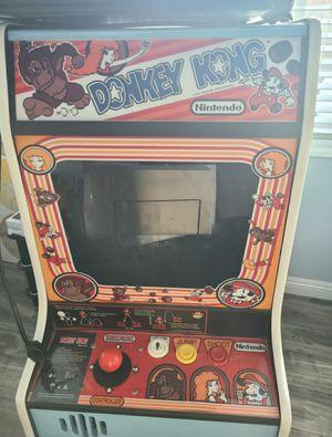 Custom Built Nintendo Donkey Kong Bar Top Arcade Cabinet for Sale in Moreno Valley, CA
