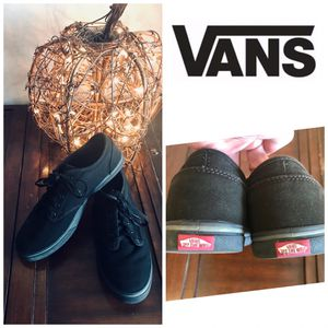 Vans Off the Wall black sneakers, size 7.5 for Sale in Mesa, AZ