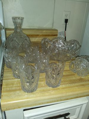 Crystal ware for Sale in Nederland, TX