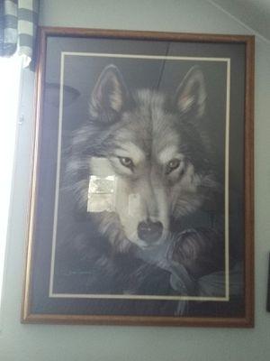 Wolf pix 34x41 for Sale in Oshkosh, WI