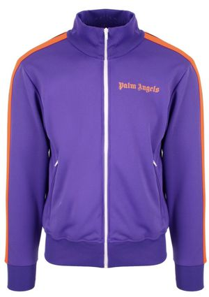 Purple and Orange Palm Angels Track Jacket Large for Sale in North Andover, MA