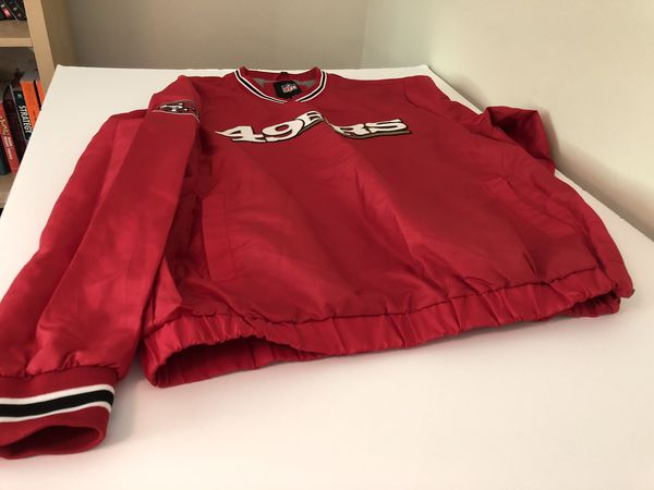Vintage 49ers sweater with pockets