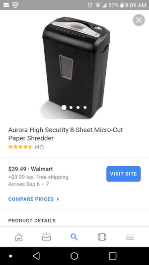 Paper shredder for Sale in Tacoma, WA