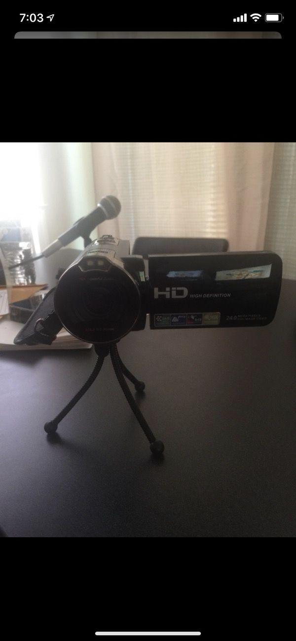 Digital video camera recorder.