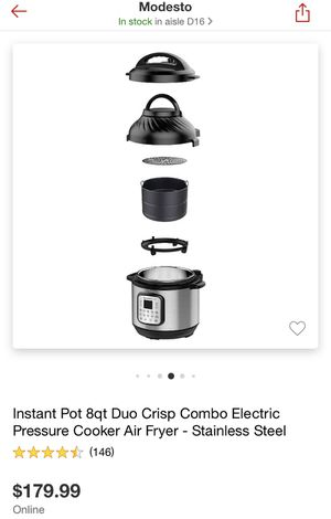 Instant pot duo ( only used once) for Sale in Modesto, CA