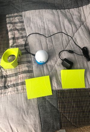 Sphero remote control ball with ramps and charger for Sale in Leesburg, VA
