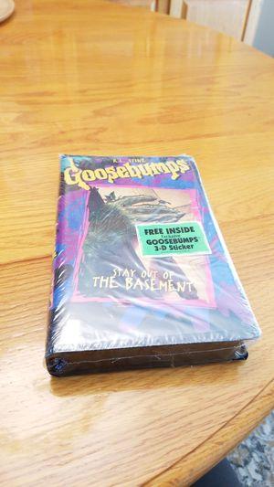 Goosebumps VHS tape for Sale in Washington, PA