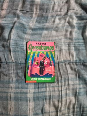 Vintage Goosebumps: Night Of The Living Dummy 2 #31 Book (Scholastic, 1995) for Sale in Los Angeles, CA