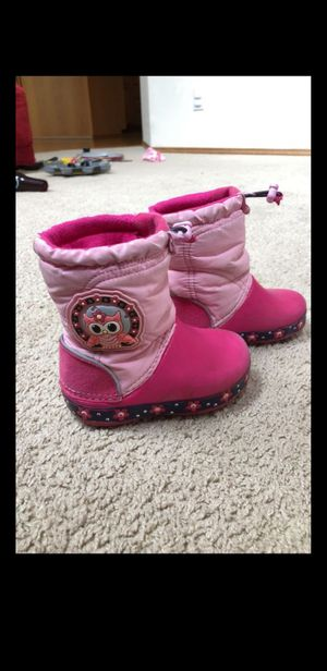Rain boots - Crocs toddler girl for Sale in Issaquah, WA