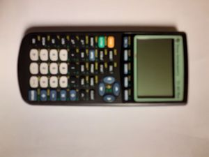 TI-83+ GRAPHING CALCULATOR with Applications & Programs for Sale in Yorktown, VA