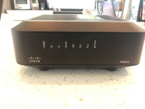Cisco Cable Modem w/Battery Backup - DPQ3212 for Sale in Chandler, AZ