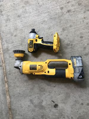 Dewalt cordless hand drill and impact wrench for Sale in Denver, CO