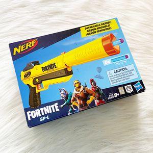 NEW Fortnite Nerf SP-L Elite Dart Blaster Hasbro for Sale in Miami, FL