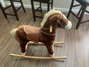Big plus rocking horse for Sale in Kent, WA