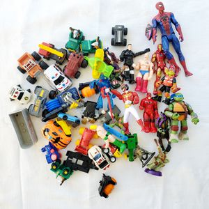 Cars and Action Figure Lot for Sale in Naples, FL