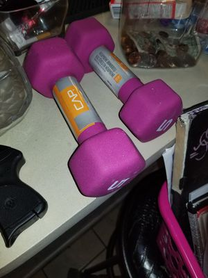 Weights $5 the set of 2 for Sale in Fort Worth, TX