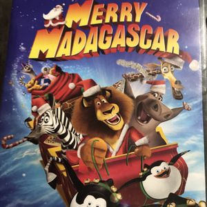 Merry Madagascar Dvd Movie for Sale in Elma, WA