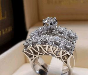Silver plated ring set size 10 for Sale in Staten Island, NY