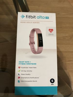 Fitbit alta HR for Sale in Fort Worth, TX