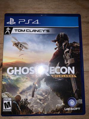 Ghost recon wildlands ps4 for Sale in Los Angeles, CA