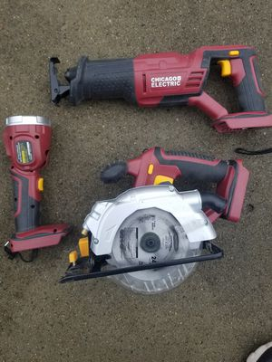 Chicago Electric Cordless Tools for Sale in Providence, RI