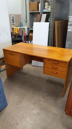 Wooden desk for Sale in Aurora, CO