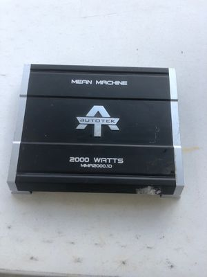 Amplified 2000 watts for Sale in Corpus Christi, TX