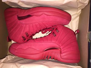 Brand new air Jordan retro 12 gym red size 10.5 and available in size 9.5 and 10 for Sale in Bronx, NY