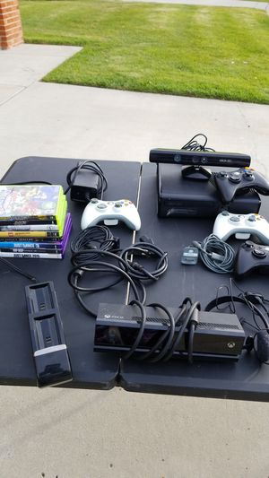 XBOX 360 WITH GAMES for Sale in San Diego, CA
