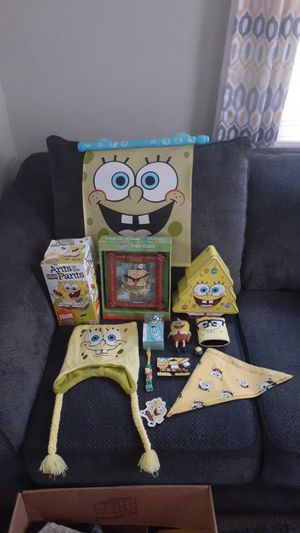 Kids spongebob SquarePants toy lot all 12 items for one price shipping available for Sale in Manheim, PA