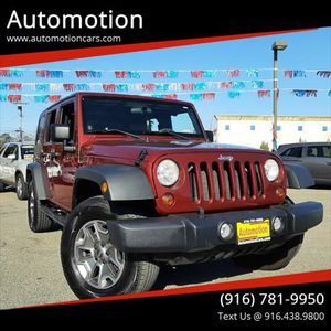 2010 Jeep Wrangler Unlimited for Sale in Roseville, CA