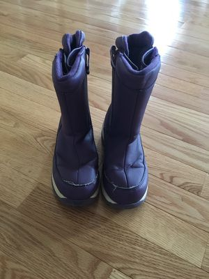Girls lands end snow boots for Sale in Ashburn, VA