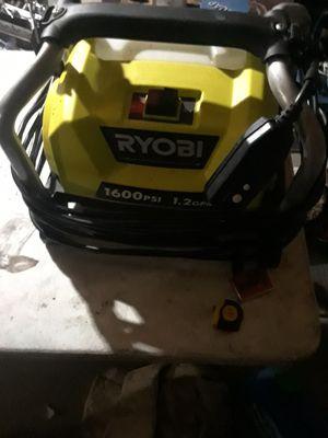 Ryobi 1600 psi pressure washer for Sale in Oakland, CA