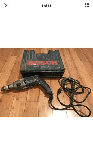 Bosch (1199VSR) 8.5-Amp - 1/2-Inch - Corded - Power Hammer Drill With Case for Sale in Menifee, CA