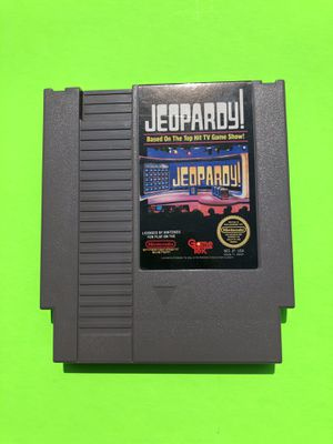Original NES Nintendo Jeopardy for Sale in Missoula, MT