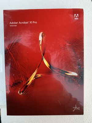 Adobe Acrobat XI Pro for windows new in sealed package for Sale in La Puente, CA