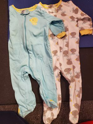 3-6, 6-9 months footed pajamas for Sale in Tamarac, FL