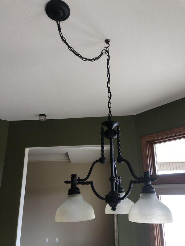 Light fixture (dining room)