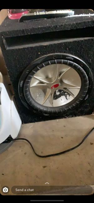 Subwoofer for Sale in Wasco, CA