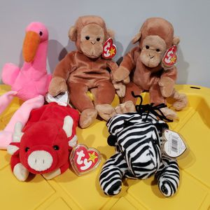 Ty Beanie Babies 1995 Set Of 5 for Sale in Artesia, CA