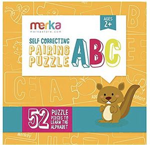 NEW! Self-Correcting Alphabet Puzzle for Kids and Toddlers - Learn Your ABCs by Matching Two Puzzles Together - Educational Toys and Games for Childr for Sale in Stuart, FL