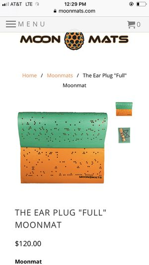 Moon mat with earplugs for Sale in Ashburn, VA